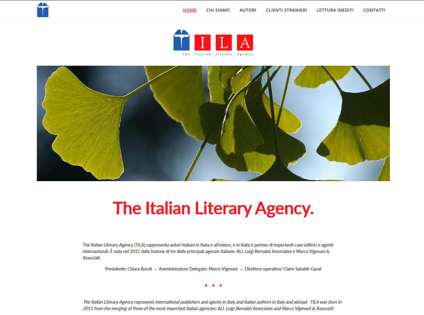 the italian literary agency