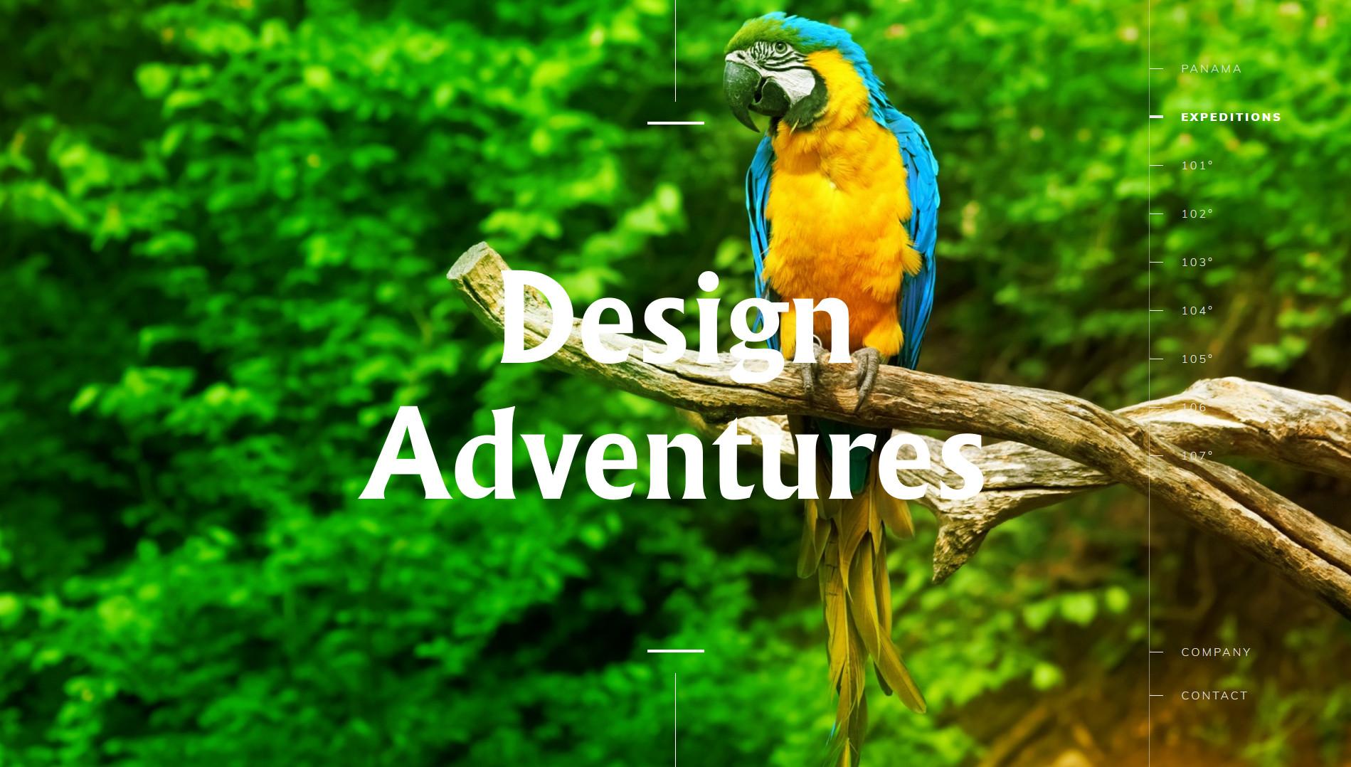 panama design sito web